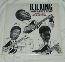 BB KING NOW APPEARING AT THE OLE MISS..VINYL LP    BLUES