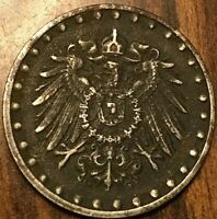 1916 GERMAN 10 PFENNIG