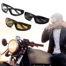 3 Pairs Motorcycle Sport Bike Riding Glasses Padded Windproof Sunglasses MA1267