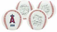 Rawlings 2018 Los Angeles Angels MLB Team Logo Roster Autograph Baseball