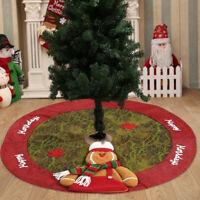Christmas Tree Skirt Skirts Decorations Stands Base Floor Mat Home Xmas Decor CA