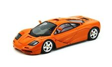 McLaren F1 1995 Papaya Orange High Mirrors 1:43 Model TRUE SCALE MINIATURES