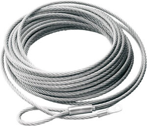 WARN Winch Replacement Cable 7/32in x 55ft Wire Rope Rt40 68851