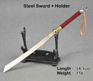 Master Sword Letter Opener Mini Cosplay Japanese Katana Steel Blade Key Chain