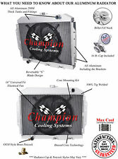 "3 Row Discount Champion Radiator W/ 16"" Fan for 1968 - 1974 AMC Javelin"
