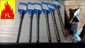 FORET MECHE BETON SDS + / SDS PLUS  4 taillants
