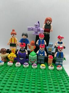 16Pcs Pokemon Go Set POKEMON Mini Figures PIKACHU Building Blocks Toys Kids Gift