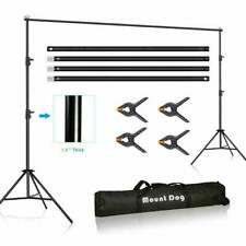 10 X 10Ft Photo Video Studio Backdrop Background Stand, Adjustable Heavy Duty