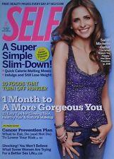 Sarah Michelle Gellar October 2007 Self Magazine