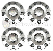 "Fiat 500 POP 14"" Wheel trims & Fixing rings New & Genuine Fiat 51787644 GENUINE"