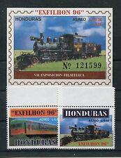 Honduras 1311/12 Block 56 postfrisch / Eisenbahn .........................1/3091