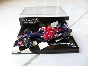 Toro Rosso Cosworth STR1 Vitantonio Liuzzi #20 MINICHAMPS 2006 1/43 F1 Formel 1