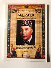 "Honorable Elijah Muhammad- ""Malachi I Will Send You Elijah� Part 1"
