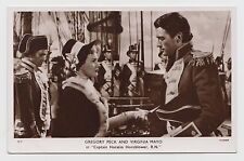 "POSTCARD - Picturegoer #D17 Gregory Peck Virginia Mayo ""Cpt Horatio Hornblower"""