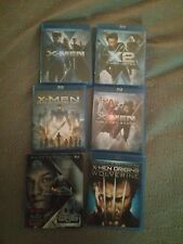 Xmen collection bluray