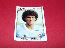 WILMAR CABRERA URUGUAY RECUPERATION PANINI FOOTBALL MEXICO 86 WM 1986