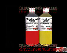 MOULDCRAFT A3000R 250g RED FAST CAST Polyurethane Liquid Plastic casting Resin