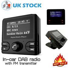 2.4'' LCD Car DAB Adapter+ Digital Radio with Bluetooth FM Transmitter Receiver