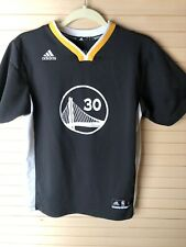 Adidas Golden State Warriors Short Sleeve Stephen Curry 30 Jersey Kids/Youth LG
