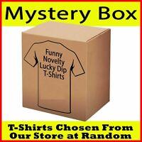 Mystery Bag T Shirt Funny Novelty tees tshirts Lucky dip T-Shirts gift Bargain