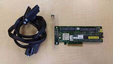 HP 441823-001 LSI Smart Array P400 256MB SAS RAID Controller Card w/ Cables