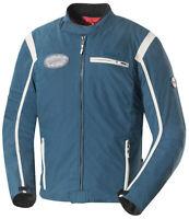 IXS Textiljacke // Ridley (Blau/Elfenbein) // Motorradjacke Gr. L