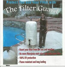 """The Filter Guard"" swimming pool 100% UV protective cover for  pool filter"