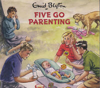 Famous Five Go Parenting Enid Blyton 2CD Audio Book NEW Grown Ups Spoof FASTPOST