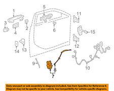 Cadillac GM OEM 2010 CTS Front Door-Lock Actuator Motor 22862244