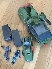 Lot GI JOE HAVOC VEHICULE  HASBRO Incomplet + 2 Figurines