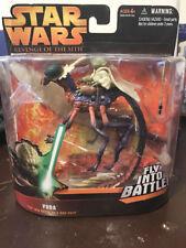 STAR WARS ROTS Yoda Fly Into Battle - 2005 - MOC