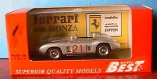 FERRARI 860 MONZA #211 RIVERSIDE GINTER 1958 BEST 9134 1/43 MADE IN ITALY SILVER