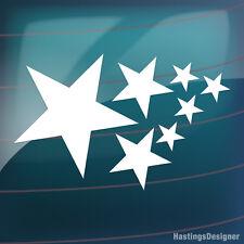 37x STARS Pack for Bike,Car,Van,Window,Wall,Laptop Vinyl Decal Stickers