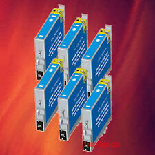 6 T044220 T0442 CYAN INK FOR EPSON C84WN C66 CX6600