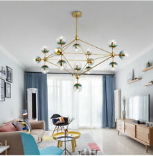 Large Chandelier Lighting Glass Pendant Light Kitchen Lamp Modern Ceiling Lights