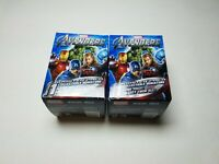 Lot Of 2 Brand New Sealed Marvel Avengers Heroclix Booster Pack Box NOT SEARCHED