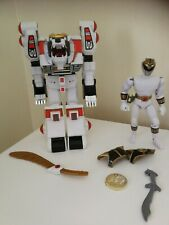Power Rangers  Mighty Morphin White Tigerzord with white ranger