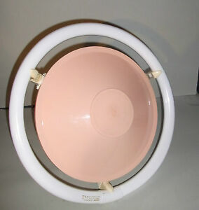charming old Ceiling lamp UFO SPUTNIK? Modernism  Midcentury  NEON LOOP Bakelite