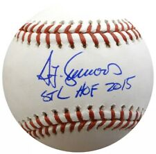 Ted Simmons HOF 2020 BECKETT Authentic Signed Baseball STL St. Louis Cardinals