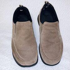 LL Bean Women's Size 6 W Tan Suede Sport Moc Toe Slip-On Loafers Shoes (05330)