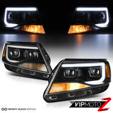 "2015-2018 Chevy Colorado ""F'KING BRIGHT"" OLED Tube Projector Headlights Lamp SET"
