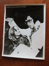ELVIS PRESLEY  8x10  photo with Lisa Marie