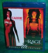 New Rare Oop Scream Factory Carrie & Carrie 2 The Rage Double Feature Blu Ray