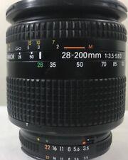 Nikon 28~200mm  1:3.5-5.6D in excellent+ condition