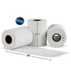 """2 1/4"""" X 85' THERMAL PAPER 50 ROLLS PREMIUM FD130 THERMAL PAPER BPA FREE"""