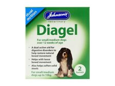Johnsons Diagel Duel Action Digestive Aid For Small & Medium Dogs
