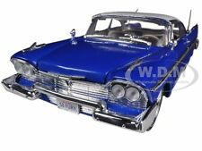 1958 PLYMOUTH FURY BLUE CUSTOM 1/18 DIECAST MODEL CAR BY MOTORMAX 79011