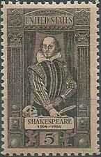 Timbre Personnages Shakespeare Etats-Unis 766 ** (38980)
