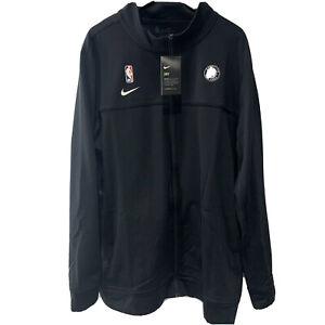 Nike NBA Brooklyn Nets Dri-Fit Player Issued Track Jacket AV1659-010 2XL-Tall