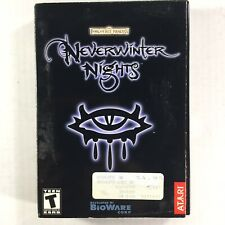 Forgotten Realms: Neverwinter Nights (PC, 2002) Complete In Box
